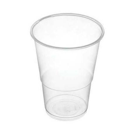 Vasos de Plástico PP Transparentes 330ml (50 Uds)