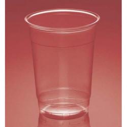 Vasos de Plástico PP Plus Transparentes 330ml (50 Uds)