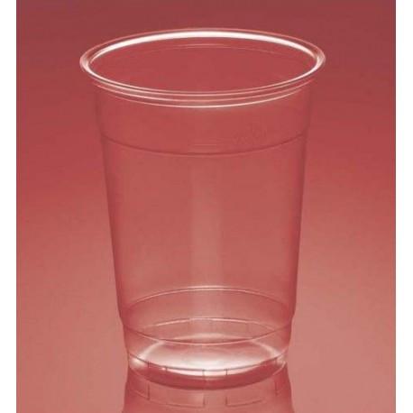 Vasos de Plástico PP Plus Transparentes 300 ml (Paquete 50 Uds)