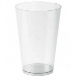 "Vasos de Plástico PP Cocktail Pequeño ""Irrompibles"" 400ml (300 Uds)"