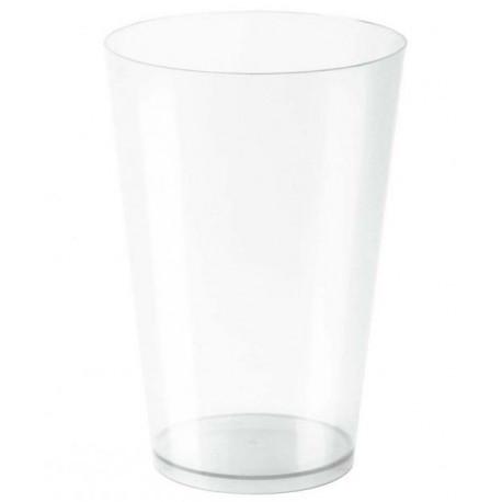 Vasos de Plástico PS Cocktail Pequeños Transparentes 400ml (25 Uds)
