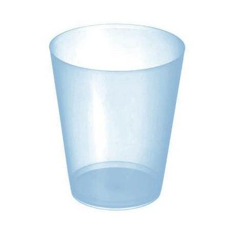 """Vasos de Plástico PP Sidra """"Irrompibles"""" Azul Translúcido 480ml (20 Uds)"""