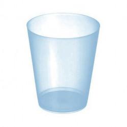 """Vasos de Plástico PP Sidra """"Irrompibles"""" Azul Translúcido 480ml (480 Uds)"""