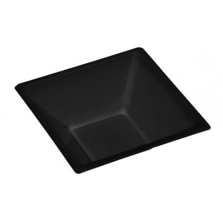 Cuencos de Plástico Negros 12cm (25 Uds)