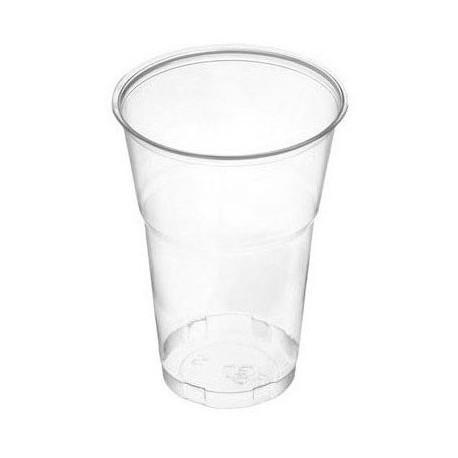 Vasos de Plástico PP Transparentes 500ml (50 Uds)