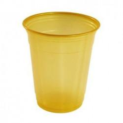 Vasos de Plástico PP Dorados 360ml (10 Uds)