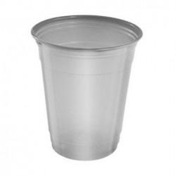 Vasos de Plástico PP Plateados 360ml (480 Uds)