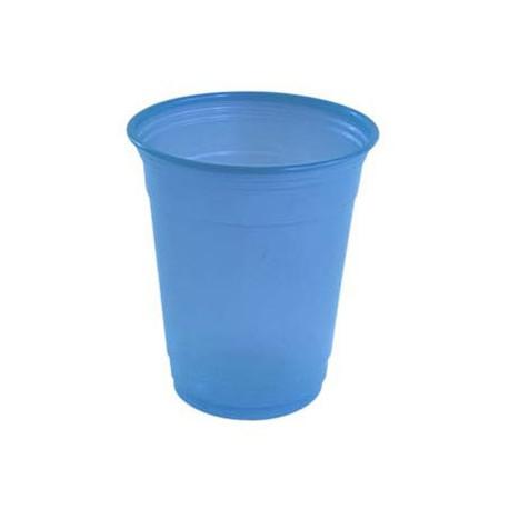 Vasos de Plástico PP Azul Nube 360ml (480 Uds)