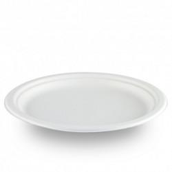 Platos Biodegradables Caña de Azúcar 26cm (50 Uds)