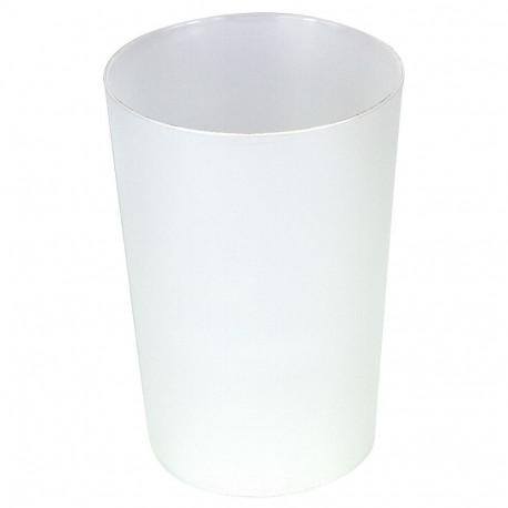 Vasos de Plástico Duro PP Sidra Reutilizables 450ml (12 Uds)