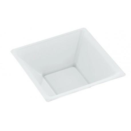 Cuencos de Plástico Blancos 12 cm (Paquete 25 Uds)