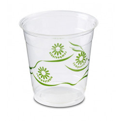 Vasos Biodegradables PLA Impresos 230ml (50 Uds)