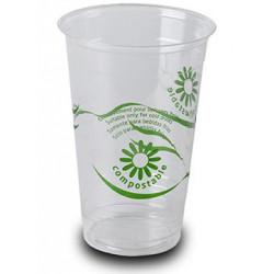 Vasos Biodegradables PLA Impresos 330ml (1.250 Uds)