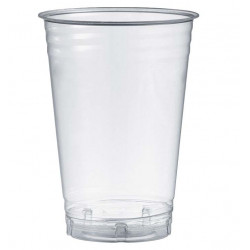 Vasos Biodegradables PLA Transparentes 550ml (50 Uds)