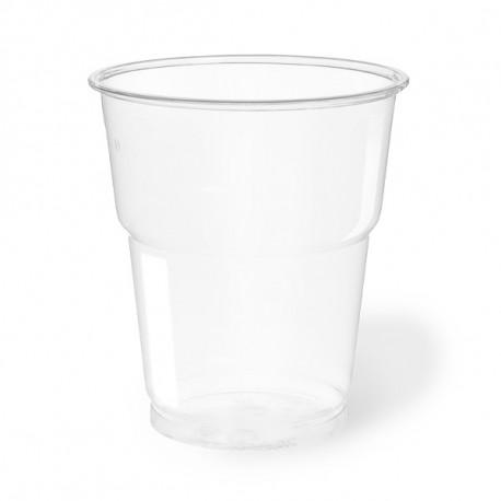 Vasos Biodegradables PLA Transparentes 250ml (50 Uds)