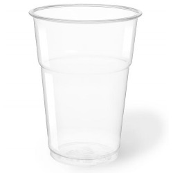 Vasos Biodegradables PLA Transparentes 400ml (1.000 Uds)