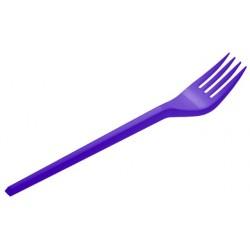 Tenedores de Plástico Azul Marino 16,5cm (15 Uds)