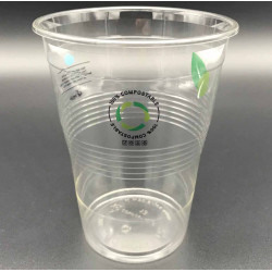 Vasos Biodegradables PLA Mini/Litrona Impresos 1.000ml (25 Uds)