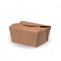Cajas de Cartón Kraft para Comida 12,5x10,5x6,5cm 780ml (25 Uds)