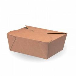 Cajas de Cartón Kraft para Comida 17x14,5x6,5cm 1.350ml (25 Uds)