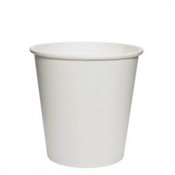Vasos Biodegradables de Cartón Blanco 120ml Ø6,1cm (50 Uds)