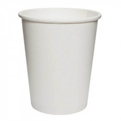 Vasos Biodegradables de Cartón Blanco 250ml (1.000 Uds)