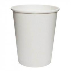 Vasos de Cartón Blanco 250ml Ø8cm (1.000 Uds)