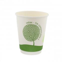 Vasos Biodegradables de Cartón Impresos 120ml Ø6,1cm (1.000 Uds)