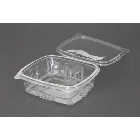 Envases con Tapa Plástico PET Transparentes 750ml (100 Uds)