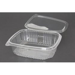 Envases con Tapa Plástico PET Transparentes 1.500 ml (Caja 200 Uds)
