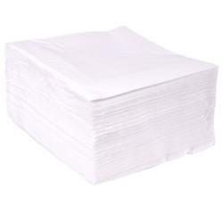 Servilletas de Papel Tissue 40 x 40 cm Blancas 2 Capas (Paquete 50 Uds)