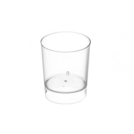 Vasos Chupitos de Plástico PS Transparentes 33ml (100 Uds)