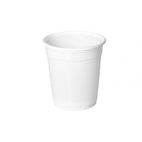 Vasos de Plástico Irrompibles 100 cc Blancos