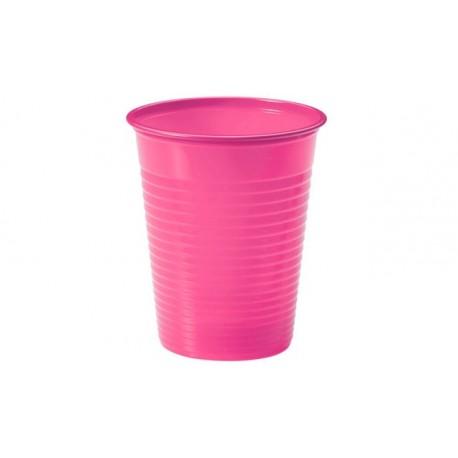 Vasos de Plástico PP Rosas 200ml (2.304 Uds)