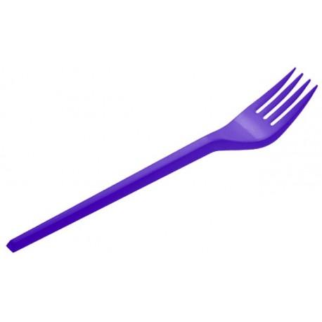 Tenedores de Plástico Azul Marino 16,5cm (540 Uds)