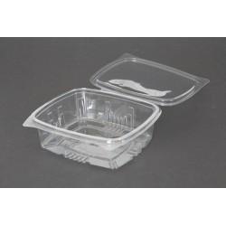 Envases con Tapa Plástico PET Transparentes 750ml (400 Uds)