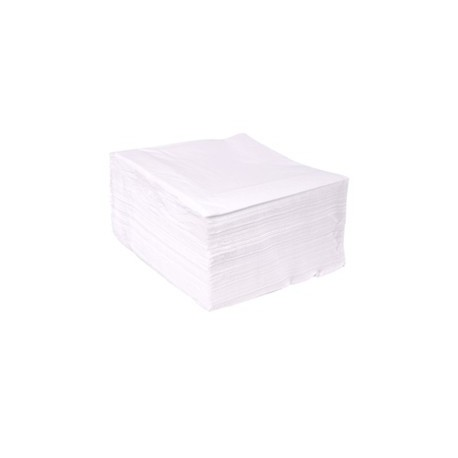 Servilletas Papel Tissue 40 x 40 cm Blancas 2 Capas