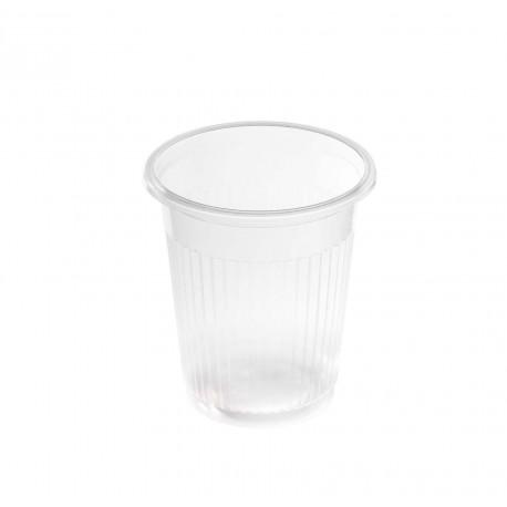 Vasos de Plástico Irrompibles 100 cc Vertical Transparentes