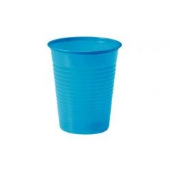 Vasos de Plástico PP Azul Cielo 200 ml (Paquete 24 Uds)