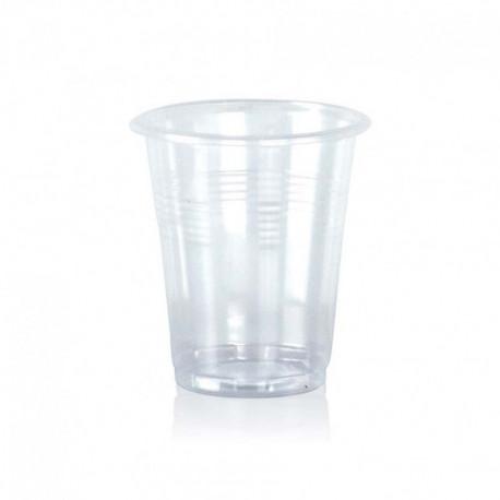 Vasos de Plástico Irrompibles 100 cc Transparentes