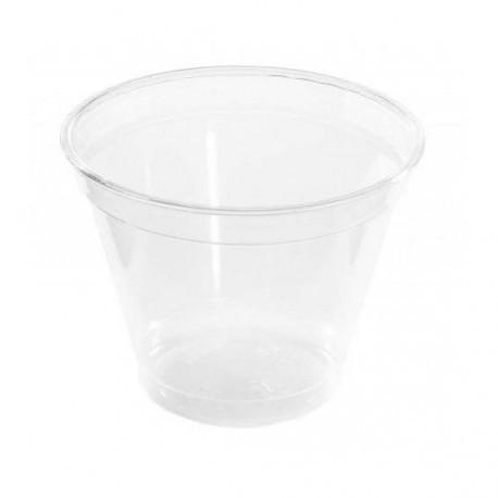 Vasos de Plástico PET 280 cc Ø 9,5cm Transparentes