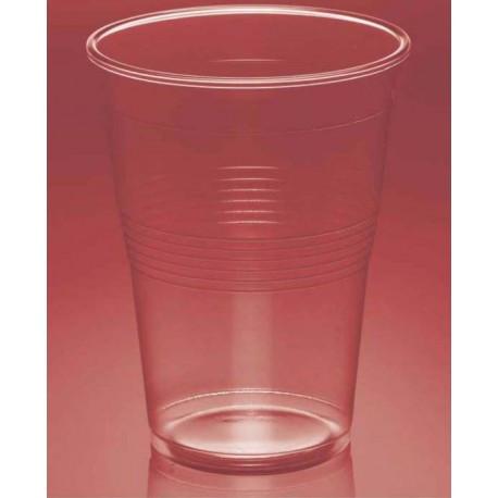 Vasos de Plástico PP Litrona / Mini Transparentes (25 Uds)