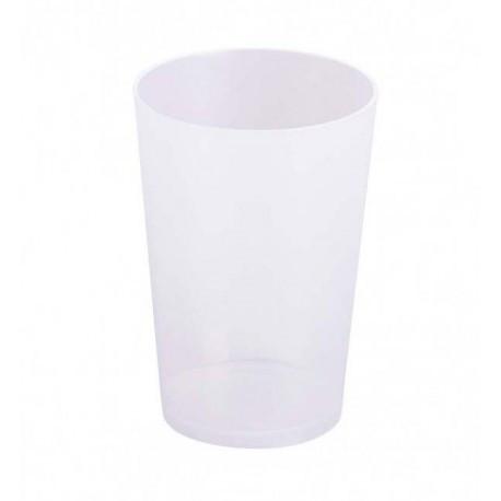 Vasos de Plástico Duro PP Reutilizables 280ml (15 Uds)