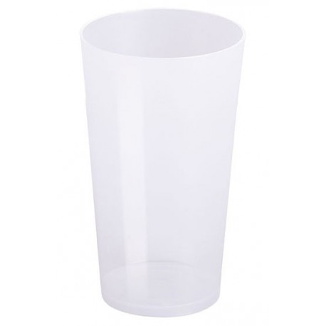 Vasos de Plástico Duro PP Cocktail Reutilizables 500ml (10 Uds)