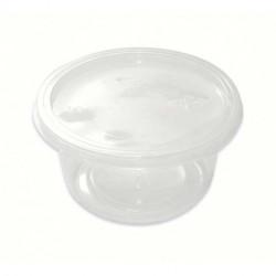 Tarrinas de Plástico con Tapa 250ml (25 Uds)