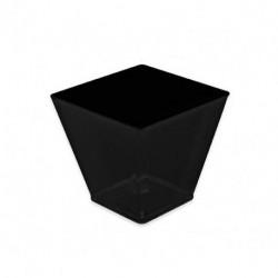 Vasos Degustación Rombo Negros 120ml (25 Uds)