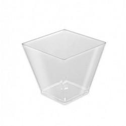 Vasos Degustación Rombo Transparentes 120ml (25 Uds)