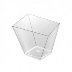Vasos Degustación Asimétricos Transparentes 120ml (25 Uds)