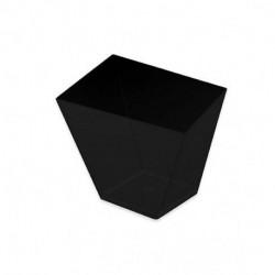 Vasos Degustación Asimétricos Negros 180ml (25 Uds)