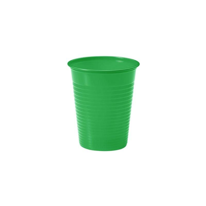 Vasos de pl stico de color verde vasos desechables baratos - Vasos de colores ...